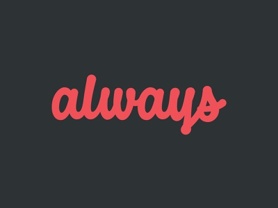 Always Lettering thevectormachine vector handtype process vectormachine handlettering hashtaglettering lettering