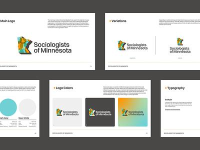 Sociologists of Minnesota — Brand Book guidelines switzer logo branding minnesota sociology