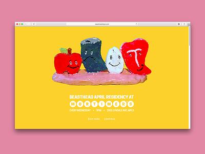 Beasthead - Residency Website