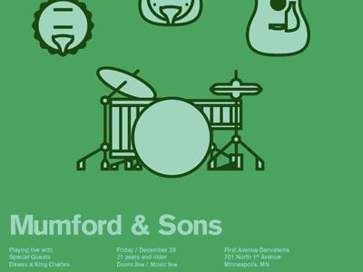 Mumford mumford and sons vector akzidenz grotesk
