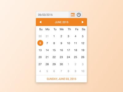 Calendar ios schedule meeting hour date ux ui calendar