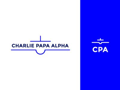 Charlie Papa Alpha Brandmark