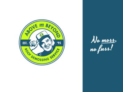 Above and Beyond Brandmark illustration vector branding brandmark logo