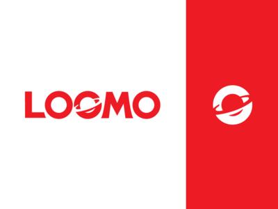 Loomo Brandmark naming logotype branding brandmark logo