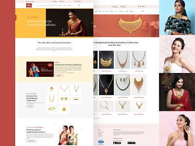 Muliya Jewels photography jewels photo vector typography logo website logo ux branding web ui design