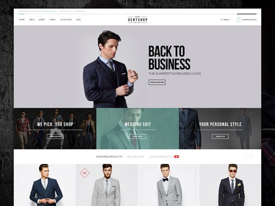GentShop - Simplicity Opencart Theme fashion style opencart theme shop store
