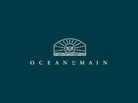 Ocean at Main Logo