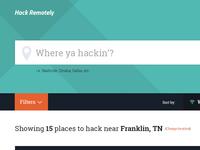Where ya hackin?