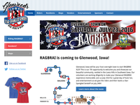 Glenwood RAGBRAI website