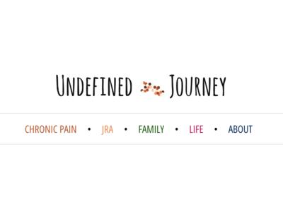 Undefined Journey blog navigation navigation blog