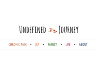 Undefined Journey blog navigation