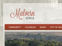 Small town website redesign