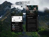 Mobile Concept - Survivalist App