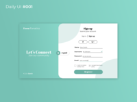Form - Daily UI Challenge #001