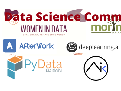 Data Science Communities in Kenya branding communities data science