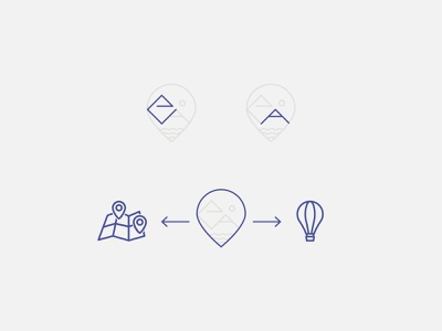 Eventaway logo concept vector design travel logo concept logo mark logo concept simple logo logo design logo