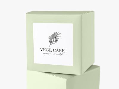 Vege Care floral logo nature shop logo cosmetics logo leaf leaf logo vegan cosmetics logo vegan cosmetics vege feminine delicate feminine logo feminine design logo design logo