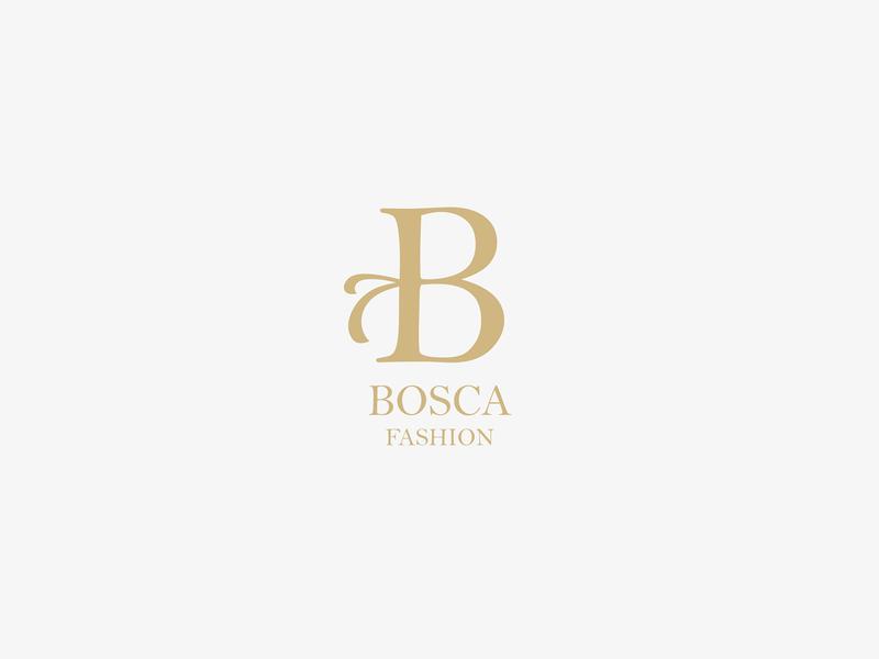 Bosca Fashion logo delicate logo delicate gold logo b monogram feminine design feminine logo feminine fashion logo minimal vector design logo