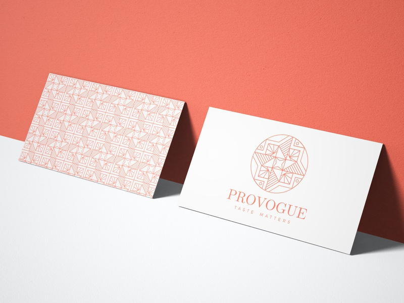Provogue logo & repeatable pattern seamlesspattern repeatable pattern pattern modern logo intricate logo feminine intricate feminine logo design logo feminine design logo design branding