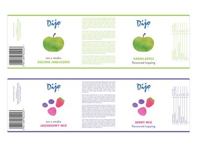 Dijo labels concept