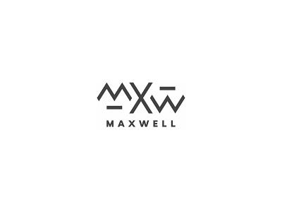 Maxwell logo logotype design simple logo minimal branding logo design logo