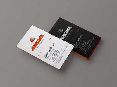 MAXIMA Business Card