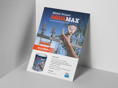 MAXIMA   Aquamax Metal Primer