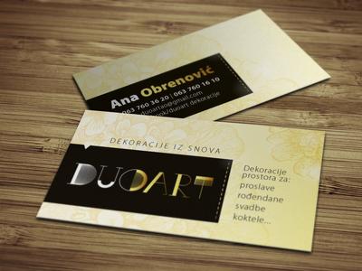 DUO ART   Business Card