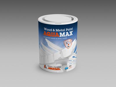 MAXIMA   Aquamax Wood & Metal Paint