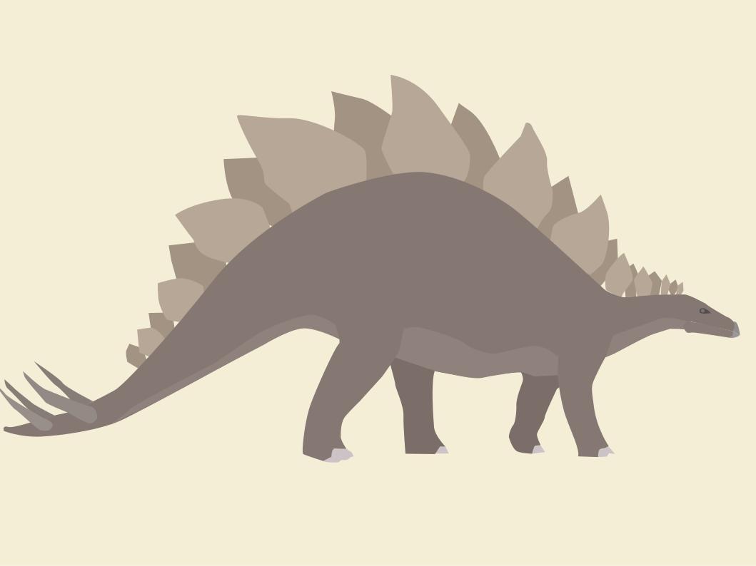 Stegosaurus stegosaurus dinosaurs inkscape