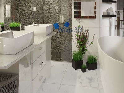 Bathroom, visualization 3D