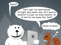 Bear and Squirrel