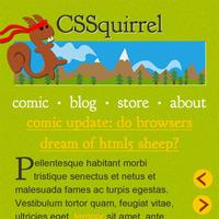 CSSquirrel Mobile Redesign