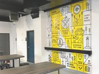 NoFo Brewing Co Mural