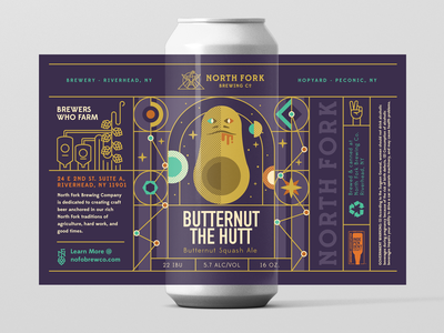 Butternut Ale Label