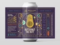Butternut Ale Label
