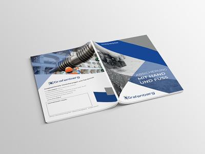FRON BACK company branding graphicdesign brochure layout tri fold brochure profile design company brochure