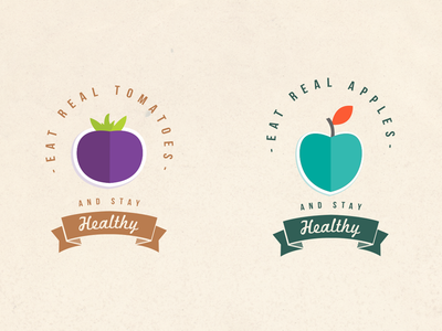 Eat 'Healthy' Icons
