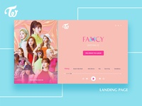 TWICE Fancy You / Landing Page