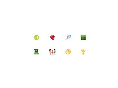 #Wimbledon Emoji