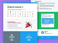 Twitter emoji marketing site