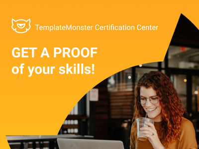 TemplateMonster Certification Center! certification certificate