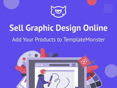 🤩Sell Graphic Design Online on TemplateMonster marketplace