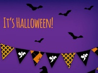 Halloween Garlands Vector