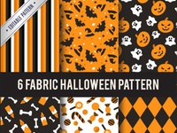 Collection halloween patterns
