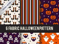 Collection fabric halloween patterns