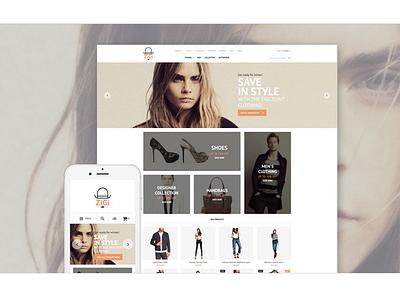 Apparel Responsive Magento Theme magento theme website template clothes online store fashion magento