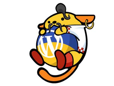 First Ukrainian Wapuu - Cossack Wapuula wapuu wordpress logo branding