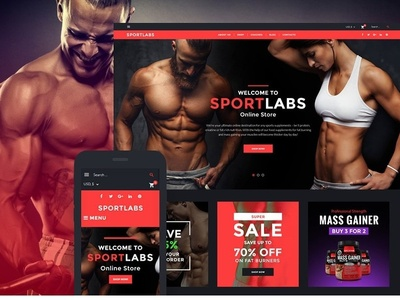 SportLabs WooCommerce Theme