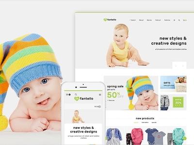 Infantello - Children's Clothing Store PrestaShop Theme